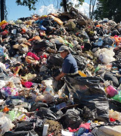 CONTINGENCIA AMBIENTAL EN CHETUMAL POR BASURA: El tiradero municipal ya está rebasado y representa un gran foco de contaminación, advierte regidor