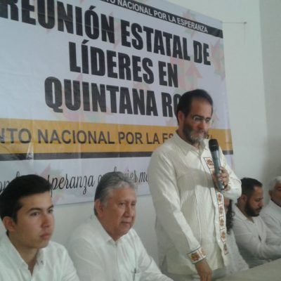 René Bejarano pide a Carlos Joaquín trabajar en coordinación con el gobierno de López Obrador