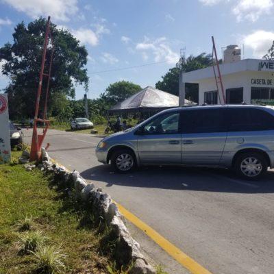 Empresario bloquea acceso a El Cedral en Cozumel