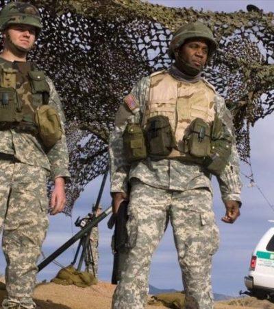 Aprueba Trump uso de 'fuerza letal' contra migrantes en la frontera con México