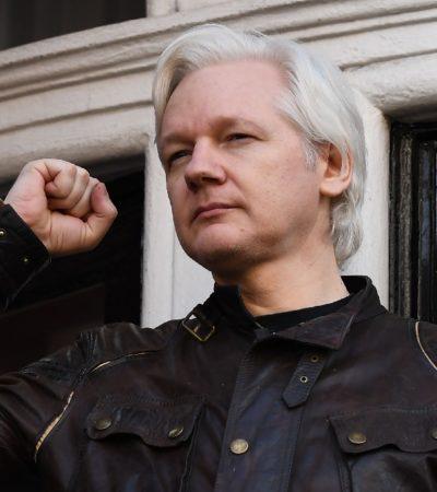 Revelan por error que Julian Assange será acusado por el Departamento de Justicia de EU