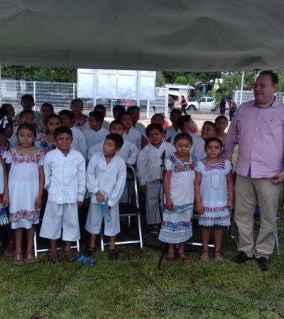 Asiste José Esquivel a la inauguración de la Casa del Universitario Indígena en Chetumal, que beneficiará a cien estudiantes de comunidades