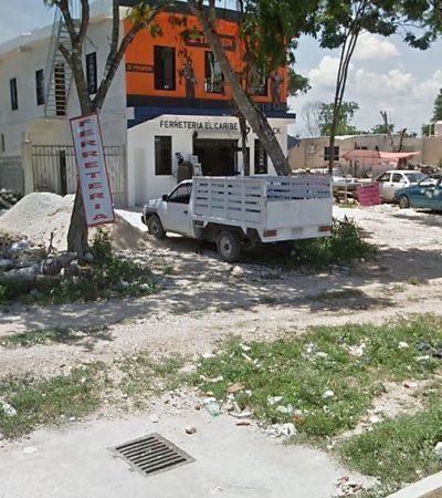 Para habilitar la avenida Constituyentes frente a In House, el Ayuntamiento podría intervenir para retirar a familias invasoras que se adueñaron de la vía pública