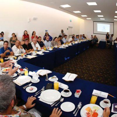 Empresarios y gobierno de Solidaridad acuerdan activar la 'Mesa de Seguridad' para fortalecer al sector productivo de la Riviera Maya