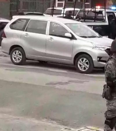 Doble movilización policíaca en Cozumel por intento de ejecución y detonación de arma de fuego en la colonia Fovissste