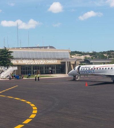 Se licitaría este año aeropuerto de Campeche; proponen participación de empresarios locales