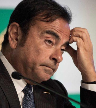 Detienen en Tokio, Japón, a Carlos Ghosn, presidente de Nissan, acusado de malversación