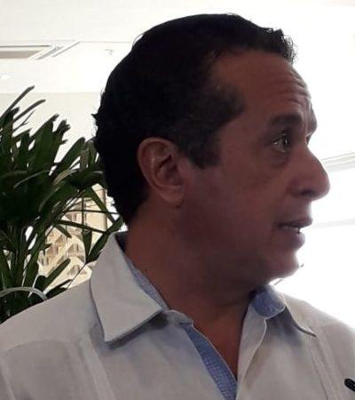 """""""SI TU RESQUEBRAJAS ESA COORDINACIÓN… ES DONDE LA DELINCUENCIA CRECE"""": Advierte Carlos Joaquín que de no sumarse Solidaridad al 'Mando Único' aumentará la violencia"""