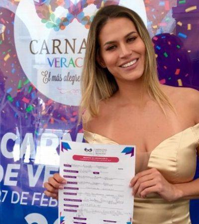 'Revive' meme de odio contra AMLO la candidata a Reina del Carnaval Veracruz 2019
