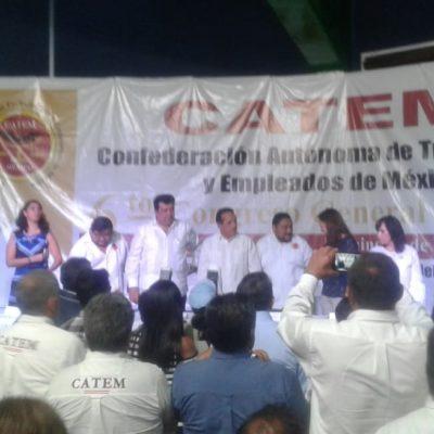 Inauguran sexto congreso nacional ordinario de la CATEM