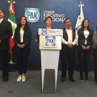 Presidirá el PAN Marko Cortés; proceso parcial, protesta Gómez Morín