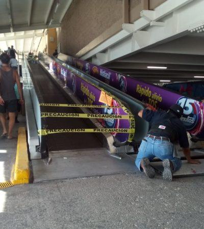 Clausuran rampa de Walmart de Playa del Carmen