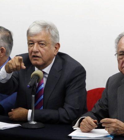 Finiquitarán NAIM conforme a la ley; empresarios refrendan confianza en AMLO