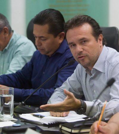 Asegura Pedro Joaquín que refinanciamiento de la deuda de Cozumel permitirá una mayor inversión pública