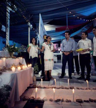 Con festejo de Día de Muertos, Ayuntamiento de Cozumel fomenta las tradiciones