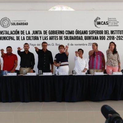 Instalan Junta de Gobierno del Instituto Municipal de la Cultura y las Artes del Municipio de Solidaridad