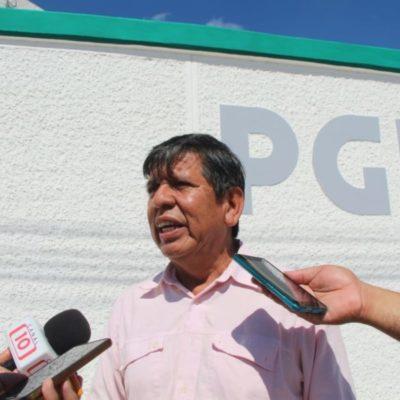 Héctor Valdez, periodista de Tulum, interpuso una denuncia ante la PGR por atentado a su casa con bombas molotov