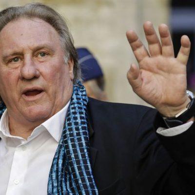 Interrogan a Depardieu por presunta violación