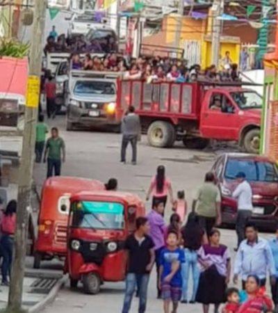 Enfrentan habitantes de Chavajebal, Chiapas, desplazamiento forzado ante conflictos