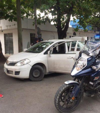 Detienen a sujetos con droga, en pleno centro de Playa del Carmen