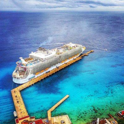ESPERAN DOMINGO ESPECTACULAR: Llega el crucero más grande del mundo a Cozumel y habrá nuevo campeón en el Mayakoba Golf Classic entre otros eventos de talla internacional