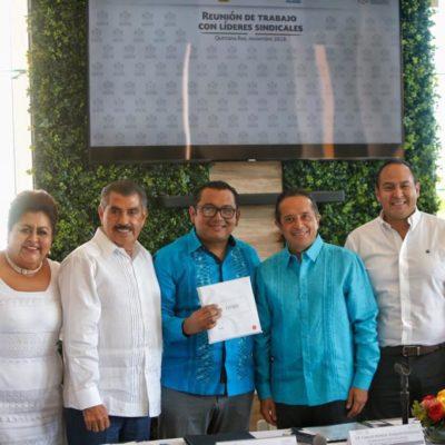 Gestiona Gobernador próxima apertura de nueve pagadurías del ISSSTE en Quintana Roo