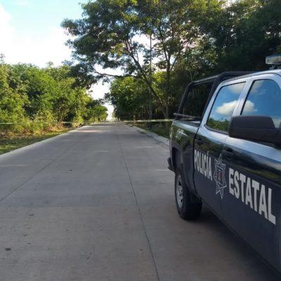 HALLAN EMBOLSADO EN PLAYA DEL CARMEN: Aparece ejecutado en la zona de la Cruz de Servicios