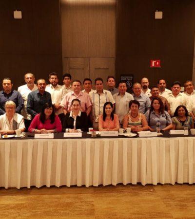 Se reúnen legisladores federales de Morena con empresarios de la Riviera Maya