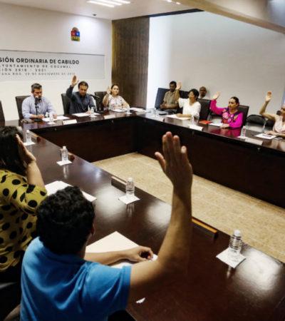 Aprueba Cabildo de Cozumel jornada de descuentos