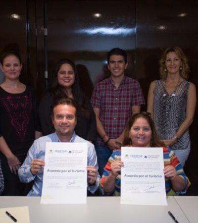 Pedro Joaquín y Sedetur firman el 'Acuerdo por el Turismo' que ayudará a fortalecer, diversificar y promover el turismo en Cozumel