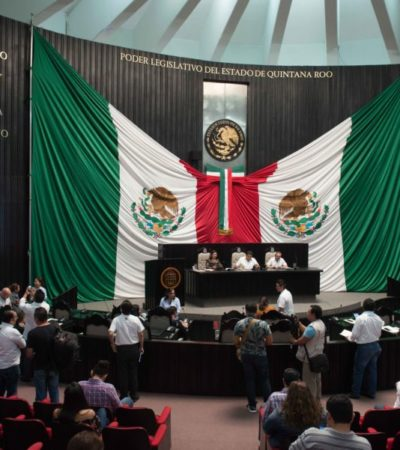 AVANZA COBRO POR SANEAMIENTO AMBIENTAL: Avala Congreso leyes de hacienda de municipios de Puerto Morelos e Isla Mujeres