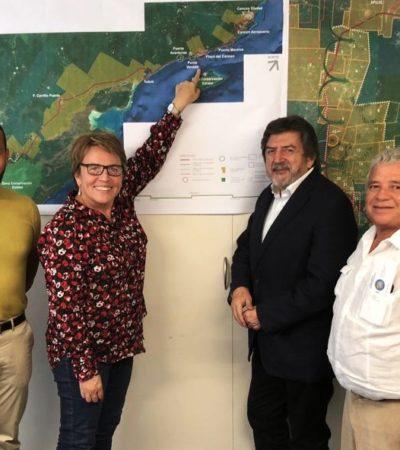 Confía Laura Beristaín que Tren Maya sea el detonante del progreso para Solidaridad