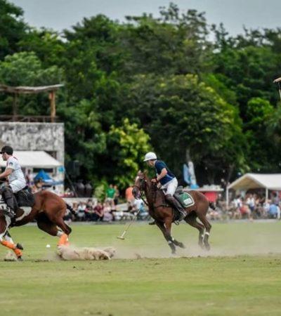 En diciembre, Puerto Morelos será sede del Torneo Internacional de Polo '10ª Copa del Rey', anuncia Laura Fernández