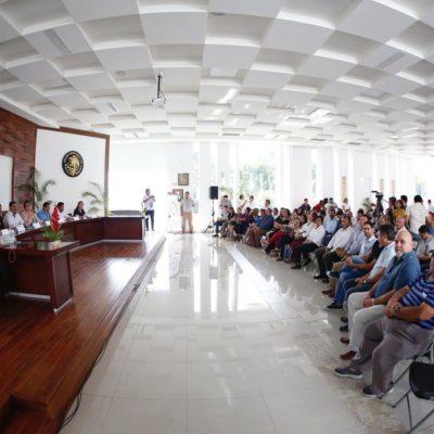 Instalan Comisión de Desarrollo Urbano y Transporte en Solidaridad