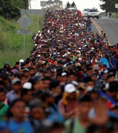 Consterna a la ONU desprotección en que se deja a migrantes a su paso por Veracruz