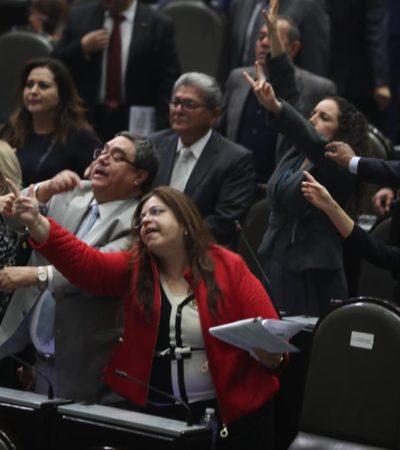 FRENAN PAN, PRI Y MC ELIMINACIÓN DEL FUERO: Morena tropieza por ausencia de sus diputados