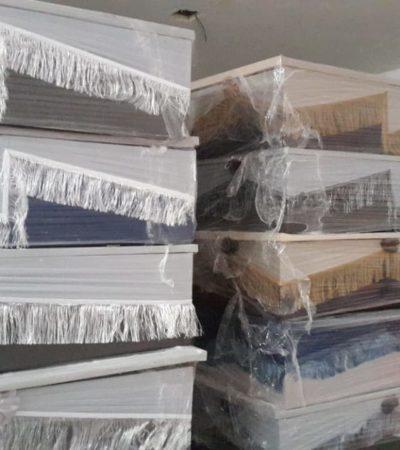 Estalla escándalo por supuesta extracción de ataúdes en Chetumal