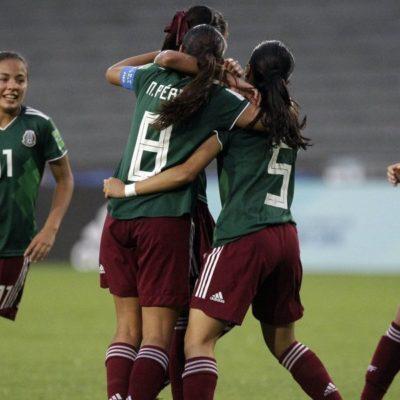 Avanza México a la final del Mundial Femenil de Fútbol Sub 17; enfrentará a España