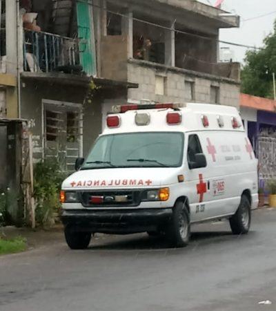 Sujeto golpea a otro y le provoca convulsiones en Chetumal