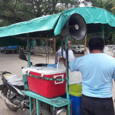 Falta de hielo en José María Morelos, disminuye ventas de comerciantes
