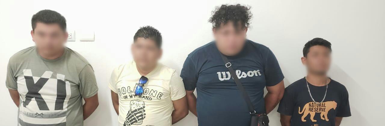 Detienen en Playa a presuntos delincuentes con arma y un pasamontaña