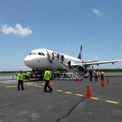 Inaugura Volaris vuelo CDMX-Cozumel