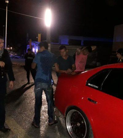 Alarman detonaciones durante la noche del viernes en distintos puntos de Cozumel; no hay detenidos