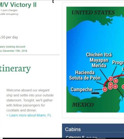 Ofertan navieras a Puerto Morelos como destino de cruceros