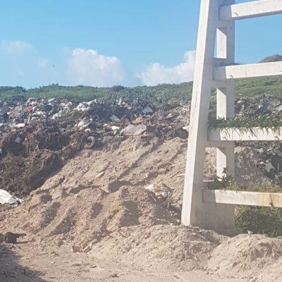 Autoridades de Isla Mujeres buscan definir responsabilidades para la recoja de basura en los límites con BJ, donde proliferan basureros clandestinos