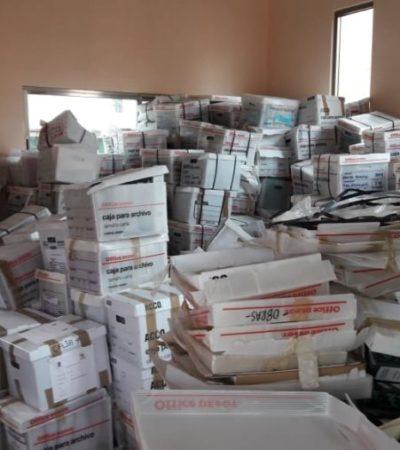 Continúa en riesgo el Archivo Municipal morelense, por no contar con edificio definitivo para resguardarlo
