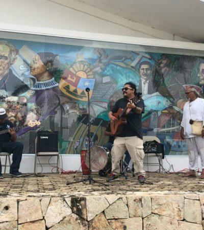 """""""El estado y los municipios se mantienen sin estrategias ni políticas públicas para apoyar e impulsar la cultura"""", acusan artistas que se manifiestan frente al Congreso"""