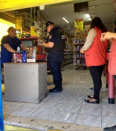 Comercio reporta asalto a mano armada, una hora después, por falta de 'permiso' del gerente regional, en Playa del Carmen