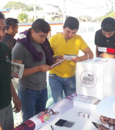 Arranca consulta ciudadana sobre 10 'programas prioritarios' de AMLO, incluyendo el Tren Maya
