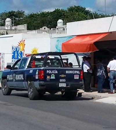 INSEGURIDAD EN CHETUMAL: 'Limpian' 2 mil pesos a empleada de tienda de limpieza